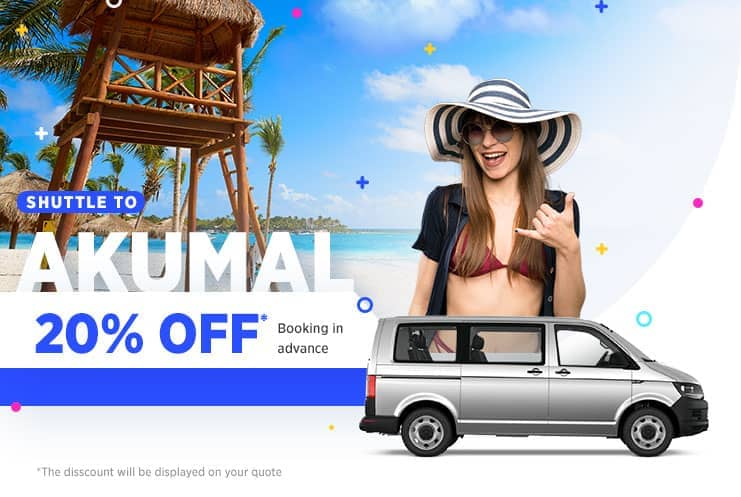 Cancun airport transfers to Akumal