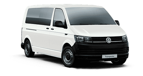 White passenger van designated for Cancun Airport Transportation Private Service
